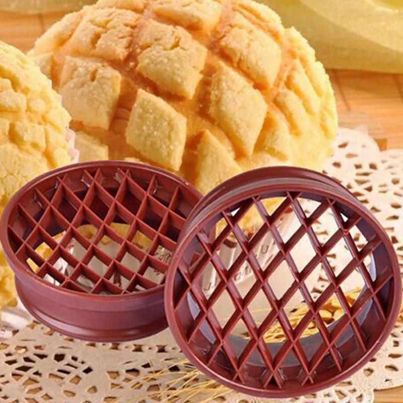 DIHE Pineapple Cake Bread Mint-Mark Baking Mold kitchen plastic pineapple style bread mold coffee