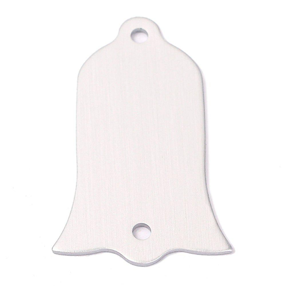 Aluminum Alloy Handmade Truss Rod Cover for SG / LP Guitar global truss f34050p b truss 0 50 m