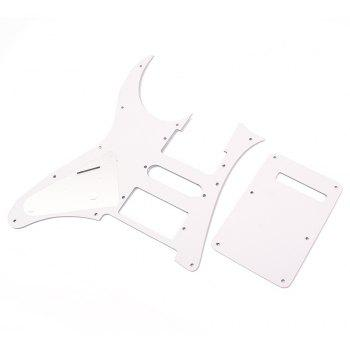 HSH White Pearl Pickguard Fit for Electric Guitar - WHITE