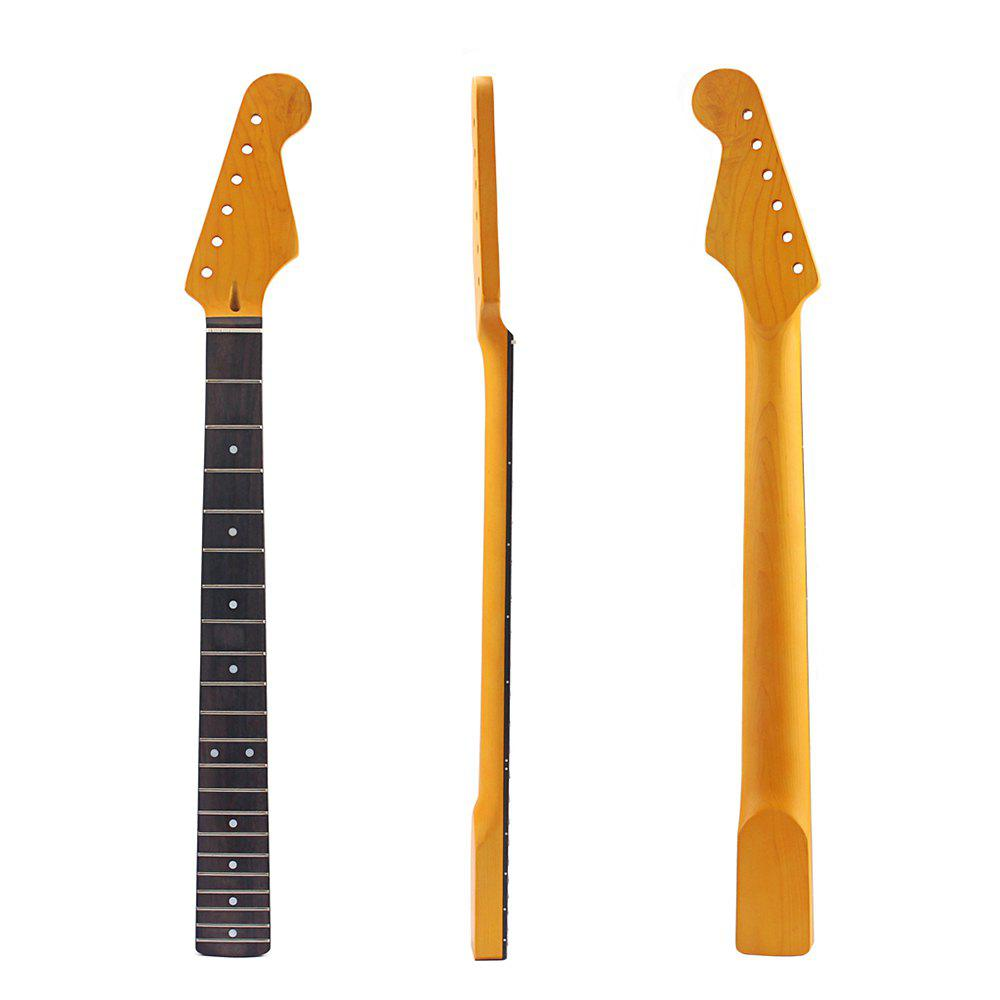Electric Guitar Neck 21 Fret Rosewood for ST Parts Replacement Surface maple guitar neck rosewood fingerboard 22 frets for fender st strat replacement parts
