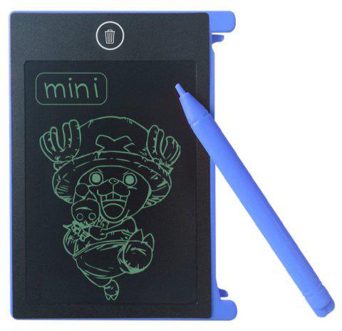 4.4 Inches Portable Mini Writing Tablet Paperless Notepad for Kids - BLUE LOTUS