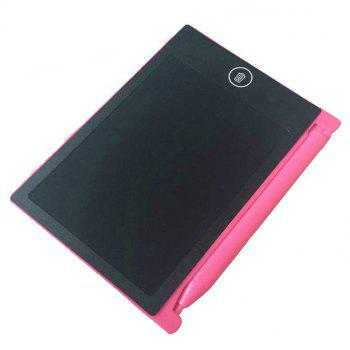 4.4 Inches Portable Mini Writing Tablet Paperless Notepad for Kids - CARNATION PINK