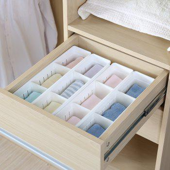 Can Connect Plastic Drawers To Separate Storage Boxes - WHITE