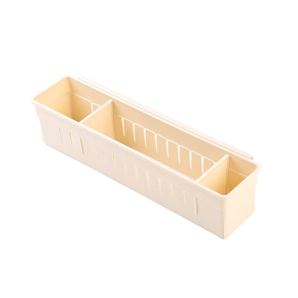 Can Connect Plastic Drawers To Separate Storage Boxes - ANTIQUE WHITE