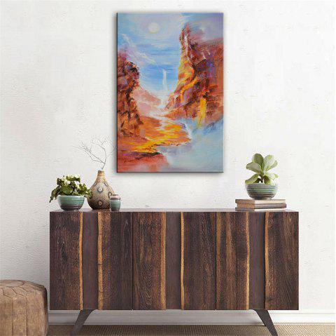 Special Design Frameless Paintings Canyon Print - multicolor 24 X 16 INCH (60CM X 40CM)