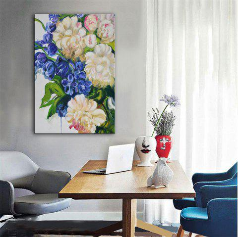 3c4daf09592 Special Design Frameless Paintings Flowers and Plants Print - multicolor 20  X 28 INCH (50CM