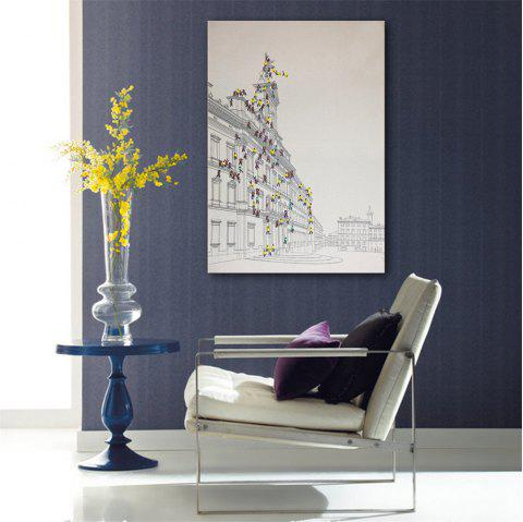 Special Design Frameless Paintings To Climb Print - multicolor 24 X 16 INCH (60CM X 40CM)