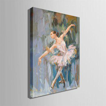 Special Design Frameless Paintings Ballet Print - multicolor 24 X 16 INCH (60CM X 40CM)