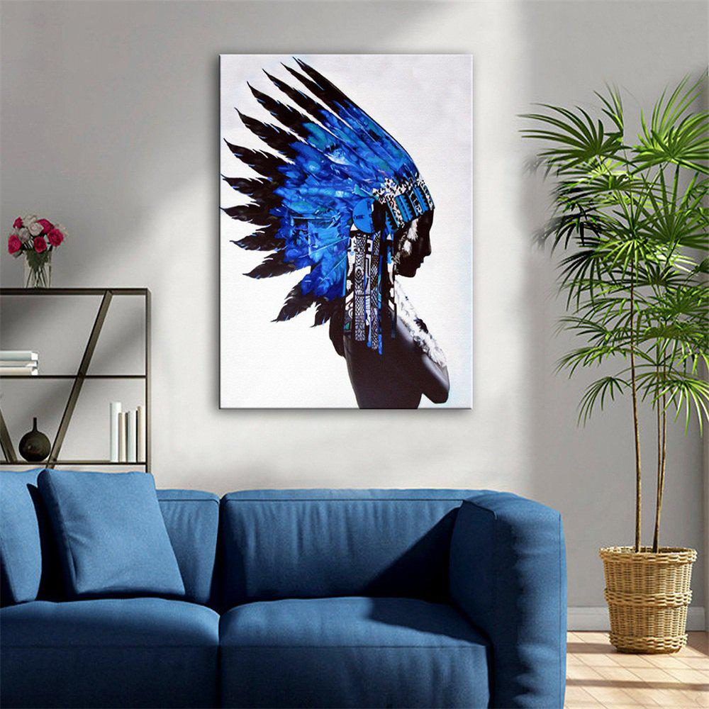 Special Design Frameless Paintings Indiana Print - multicolor 24 X 16 INCH (60CM X 40CM)