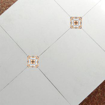 Floor Tile Living Room Bedroom Wear-Resistant Waterproof Diagonal Stickers F011 - multicolor A
