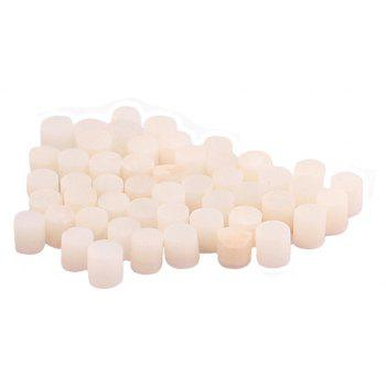 Guitar Side Dot Position Markers 3mm White Shell 100PCS - WHITE