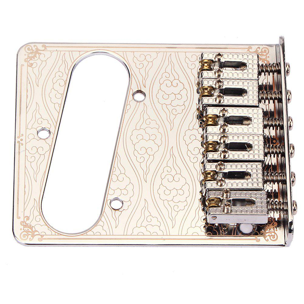 Electric Guitar TL Single Pickup Bridge guitarfamily super quantity humbucker pickup fixed electric guitar bridge stainless saddle brass plate chrome made in korea