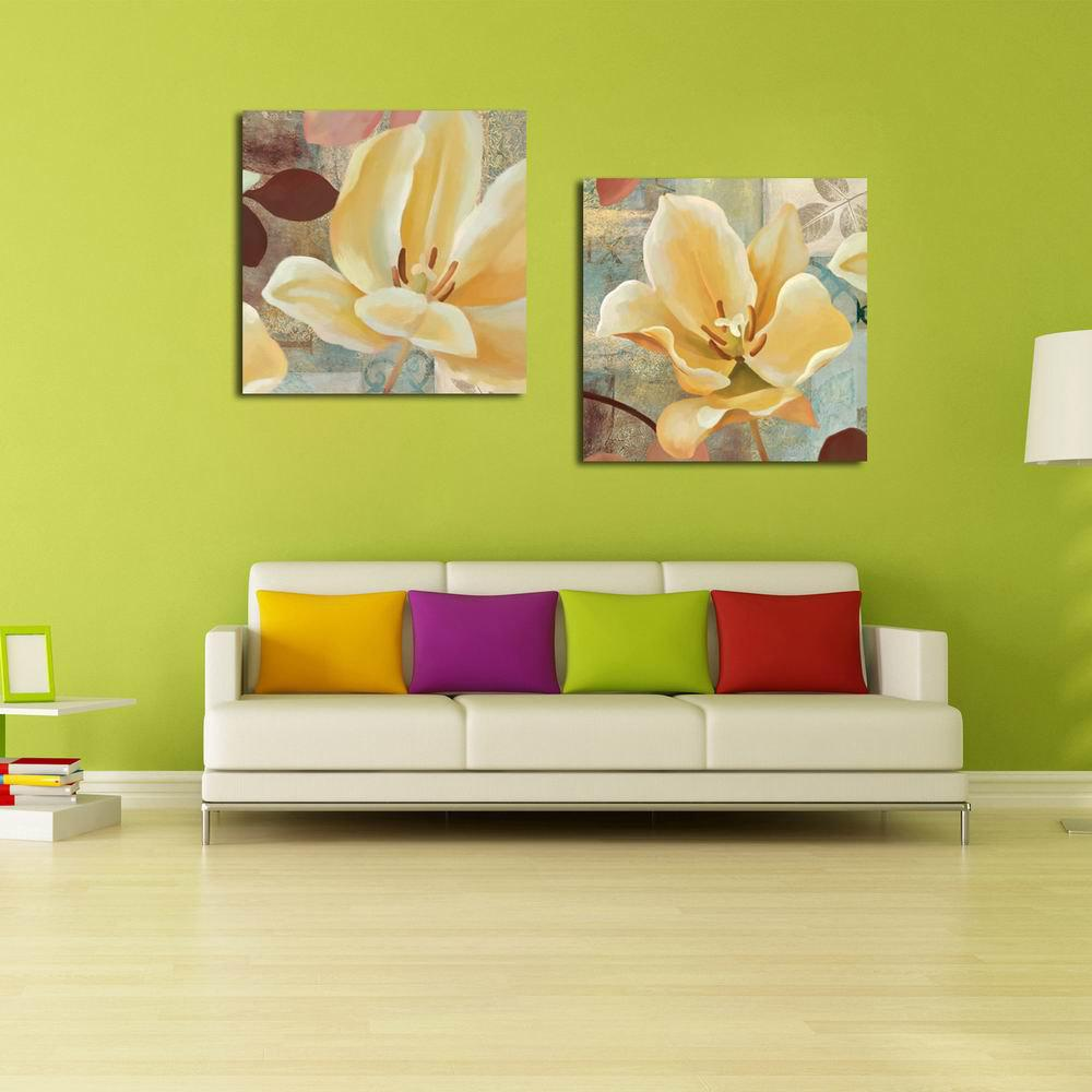 2018 W129 Water Lily Unframed Art Wall Canvas Prints for Home ...