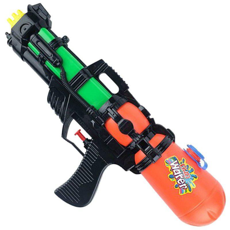 Water Pistol Paddle Toy for Children in Hot Summer - ORANGE