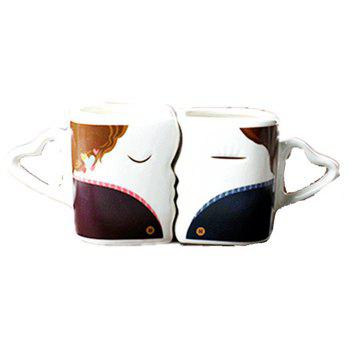 Couple Kissing Color Changing Mug Sweetheart Gifts for Sweetheart - multicolor