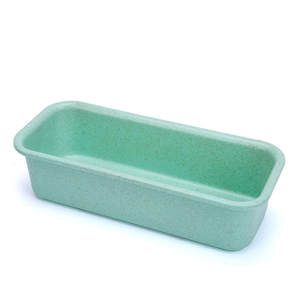 Multifunctional Wheat Refrigerator Storage Box - BLUE GREEN