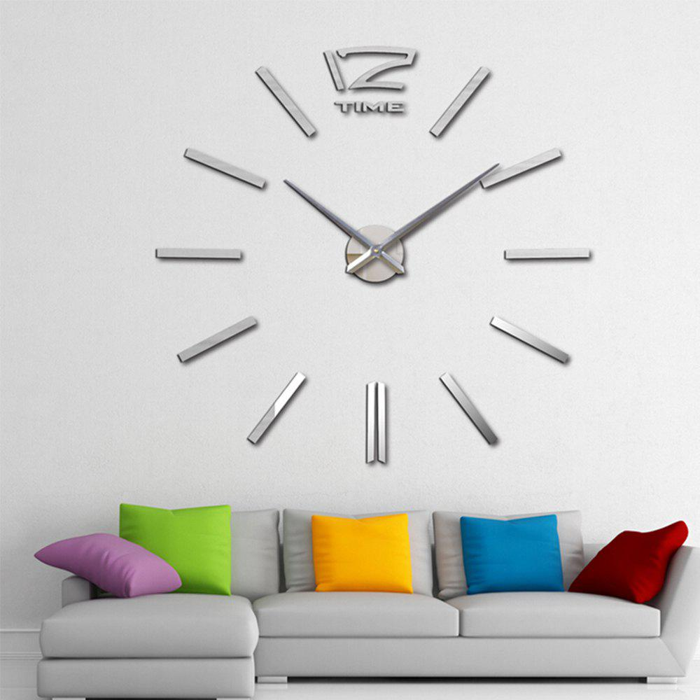 Living Room Creative Clock Wall Stickers gimi потолочная сушка для белья lift 180 rayyjym