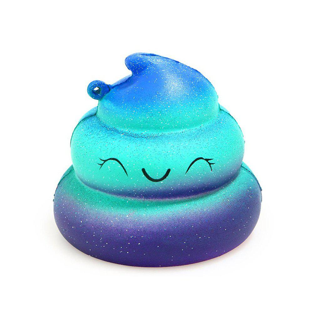 Jumbo Squishy Squeeze Anti-stress Soft Stretchy Kawaii  Toy - ROYAL BLUE