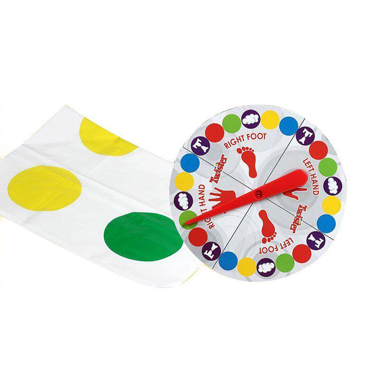 Body Twists Turns Balance Interactive Multiplayer Parent-child Toy - multicolor