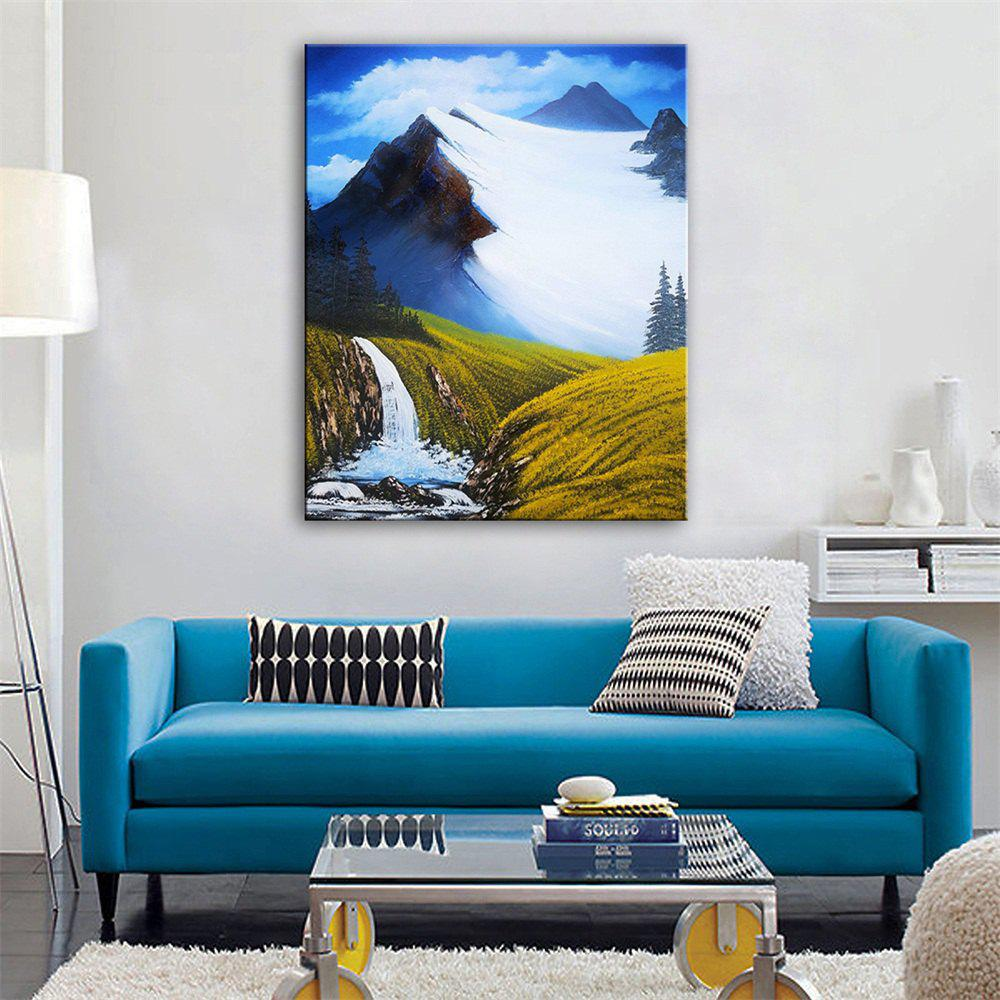 Special Design Frameless Paintings Snow Mountain Meadow Print рюкзак oregon camp mountain meadow blue