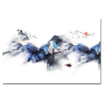 MY43-XDZS  - 208 Chinese High Mountain Scenery Print Art - multicolor 40 X 60CM