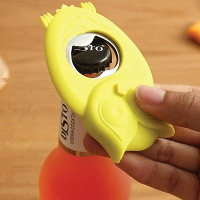 Creative Owl Beer Bottle Opener Magnetic Stainless Steel