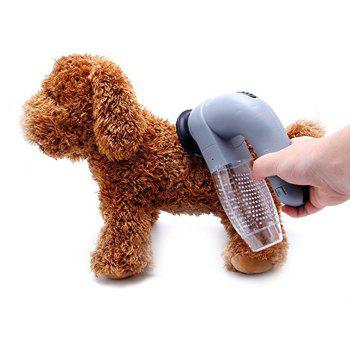 Pet Dog Cat Fur Lint Remover Hair Cloth Sofa Fabric Home Cleaner Brush Tool - SLATE GRAY