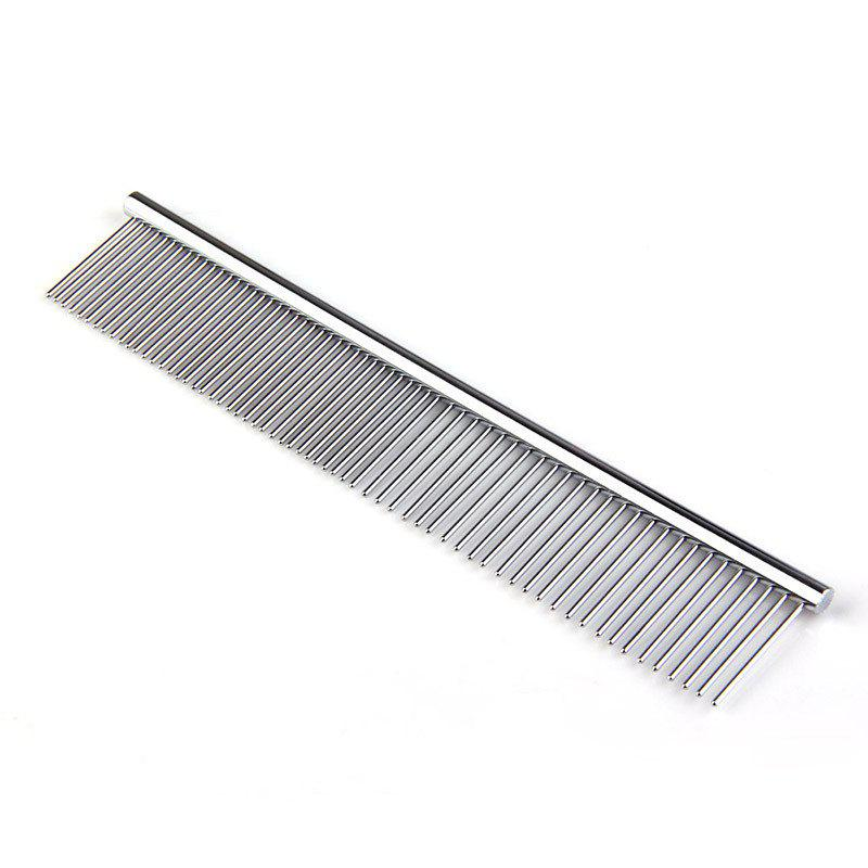 High Quality Double Headed Dog Pet Stainless Steel Pruning Comb Medium 2pcs 1 2bsp x 14mm double ferrule tube pipe fittings threaded male connector stainless steel ss 304 new high quality