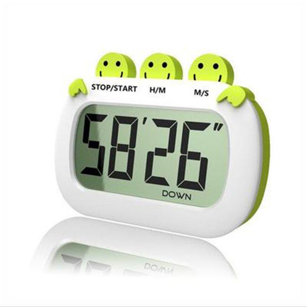 Digital Kitchen Timer Simple Operation Big Loud Alarm dmwd commercial eighth 8 channel key kitchen timer digital button timing reminder restaurant loud alarm countdown hamburger shop
