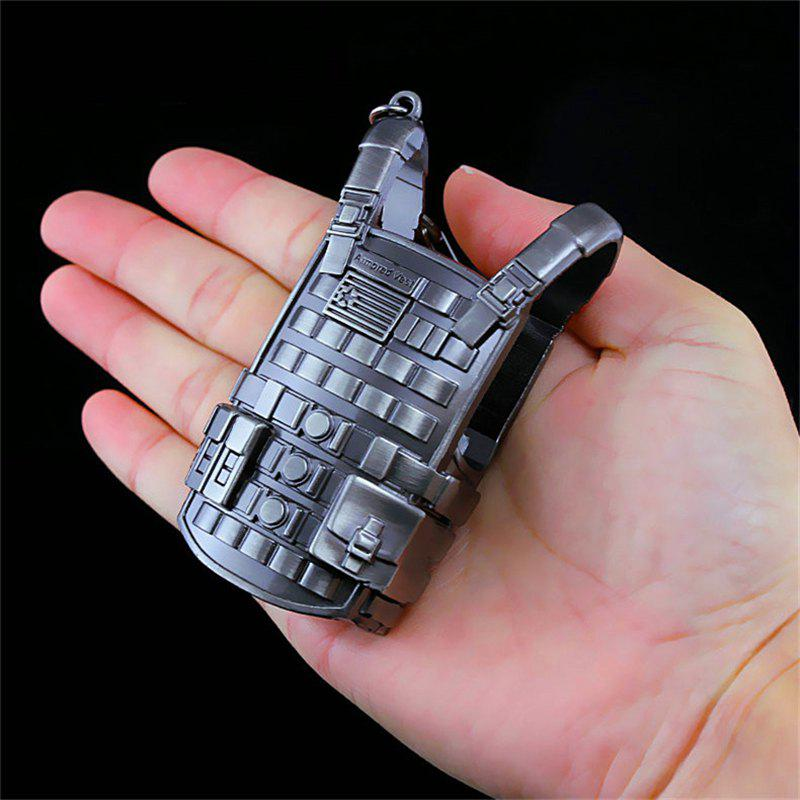 Three-level Bulletproof Vest Metal Model Figure Arts Toys Collection 25cm pvc japanese original anime lupin the third action figure kids toys for boys collection model toys