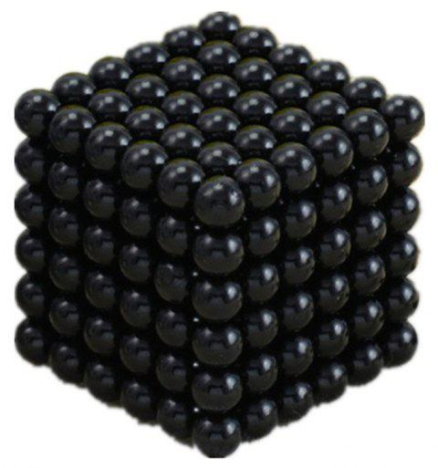Magic Buck Ball Magnetic  Decompression Puzzle Children Magical Cube Toy - BLACK 5MM