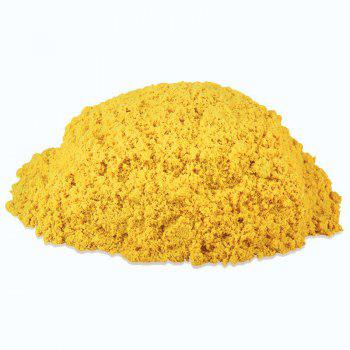 500g Space Sand for Children Toy - YELLOW