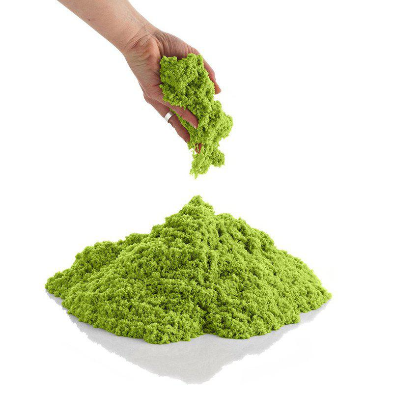500g Space Sand for Children Toy - GREEN YELLOW