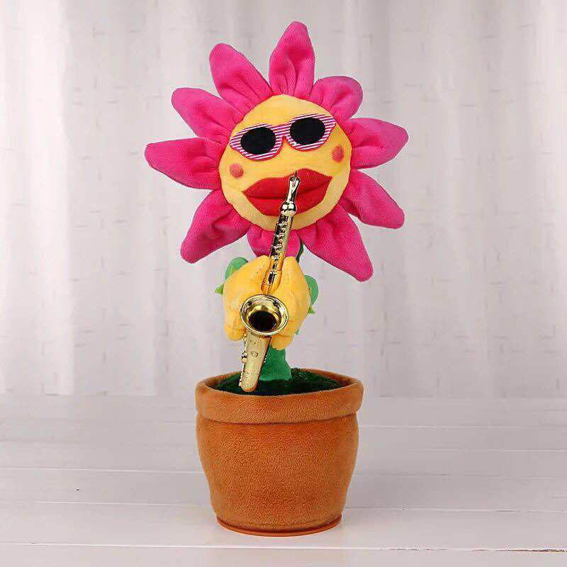 Enchanting Flower Sunflower for Electric Toys - multicolor