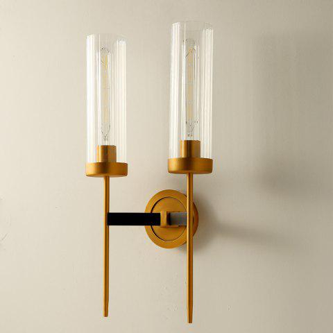 DJB52 Creative Double Head Wall Lamp 900LM - GOLD