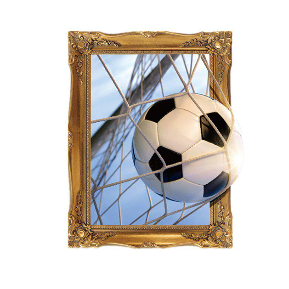 3D Football Stickers Decorated with Self-Adhesive Paper posterior composite restoration with underlying self adhesive liner
