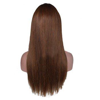 Long Brown Hair with Lace Wigs - BROWN 22INCH
