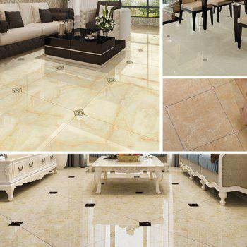 Floor Tile Living Room Bedroom Wear-Resistant Waterproof Diagonal Stickers F005 - multicolor A