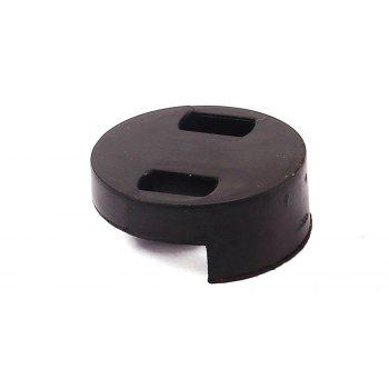 Black Acoustic Rubber Mute Fiddle Silencer for Cello Sourdine Tools - BLACK