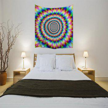Vertigo 3D Printing Home Wall Hanging Tapestry for Decoration - multicolor A W153CMXL102CM