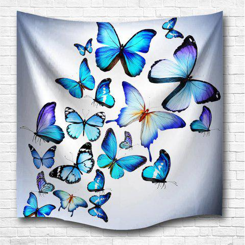 Butterfly Combination 3D Printing Home Wall Hanging Tapestry for Decoration - multicolor A W153CMXL130CM