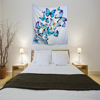 Butterfly Combination 3D Printing Home Wall Hanging Tapestry for Decoration - multicolor A W229CMXL153CM