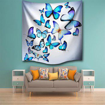Butterfly Combination 3D Printing Home Wall Hanging Tapestry for Decoration - multicolor A W200CMXL180CM
