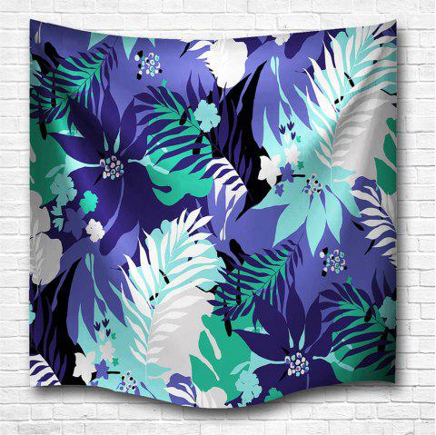 Leaves 3D Printing Home Wall Hanging Tapestry for Decoration - multicolor A W200CMXL180CM