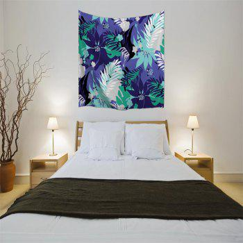 Leaves 3D Printing Home Wall Hanging Tapestry for Decoration - multicolor A W153CMXL102CM