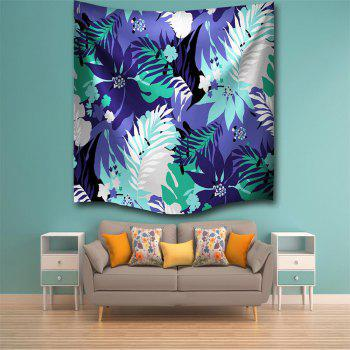 Leaves 3D Printing Home Wall Hanging Tapestry for Decoration - multicolor A W230CMXL180CM