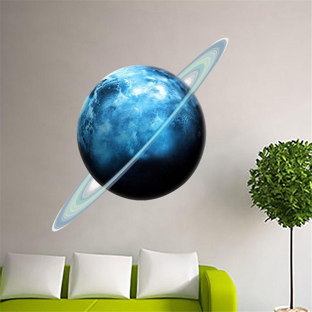 Фото 3D DIY Decor Removable Art Uranus Mural Baby Nursery Room family wall quote removable wall stickers home decal art mural