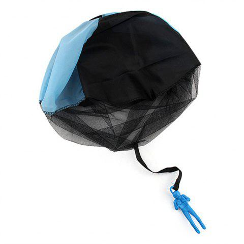 Hand Throwing Parachute for Outdoor Toy Children - DAY SKY BLUE