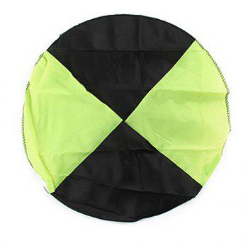 Hand Throwing Parachute for Outdoor Toy Children - GREEN YELLOW