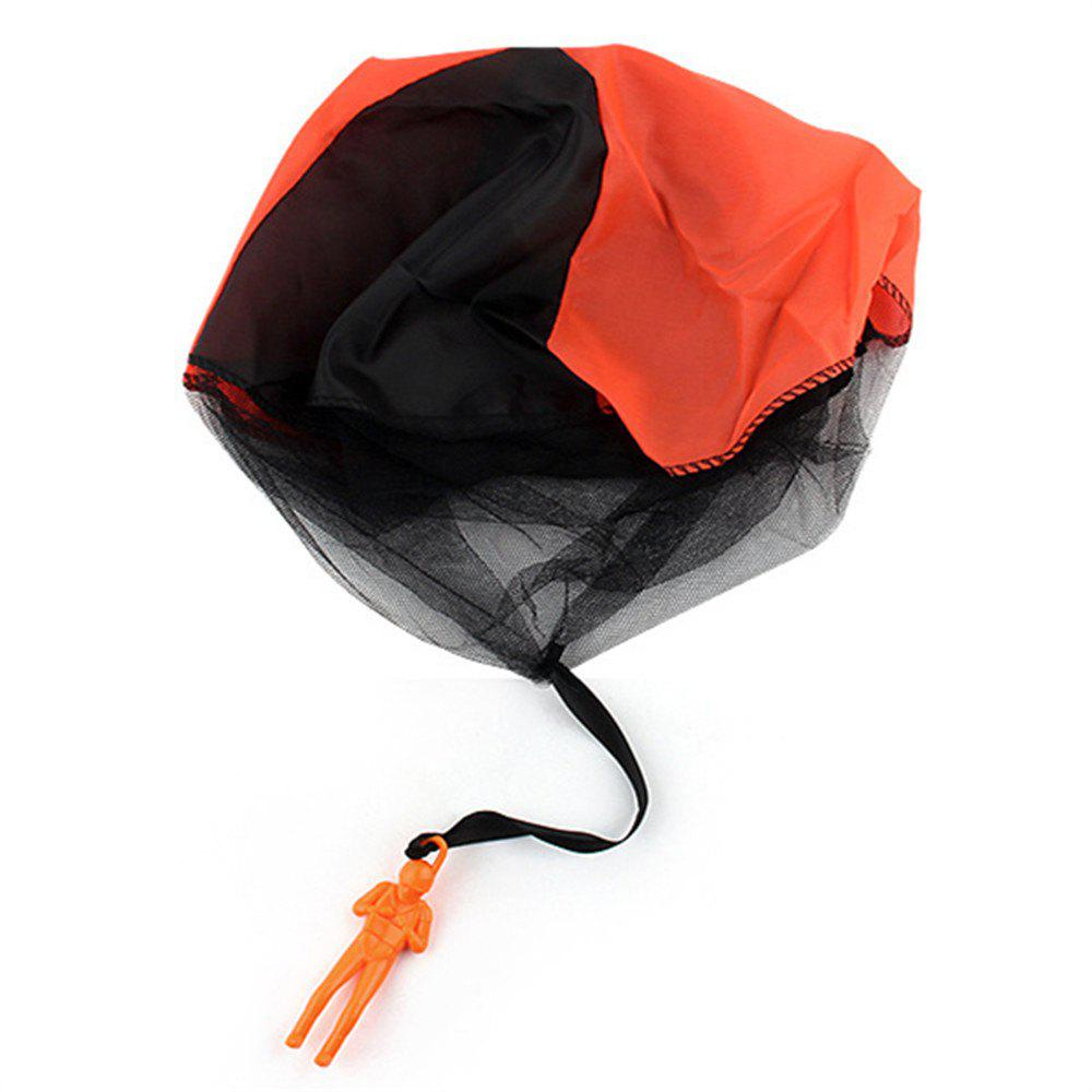 Hand Throwing Parachute for Outdoor Toy Children - ORANGE